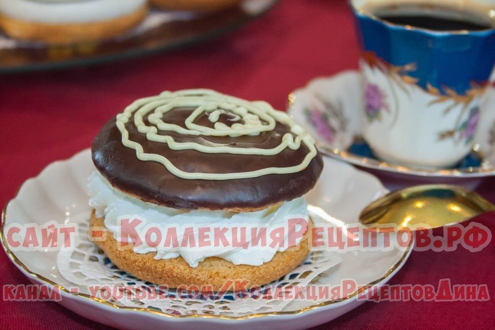 бисквитное пирожное рецепт