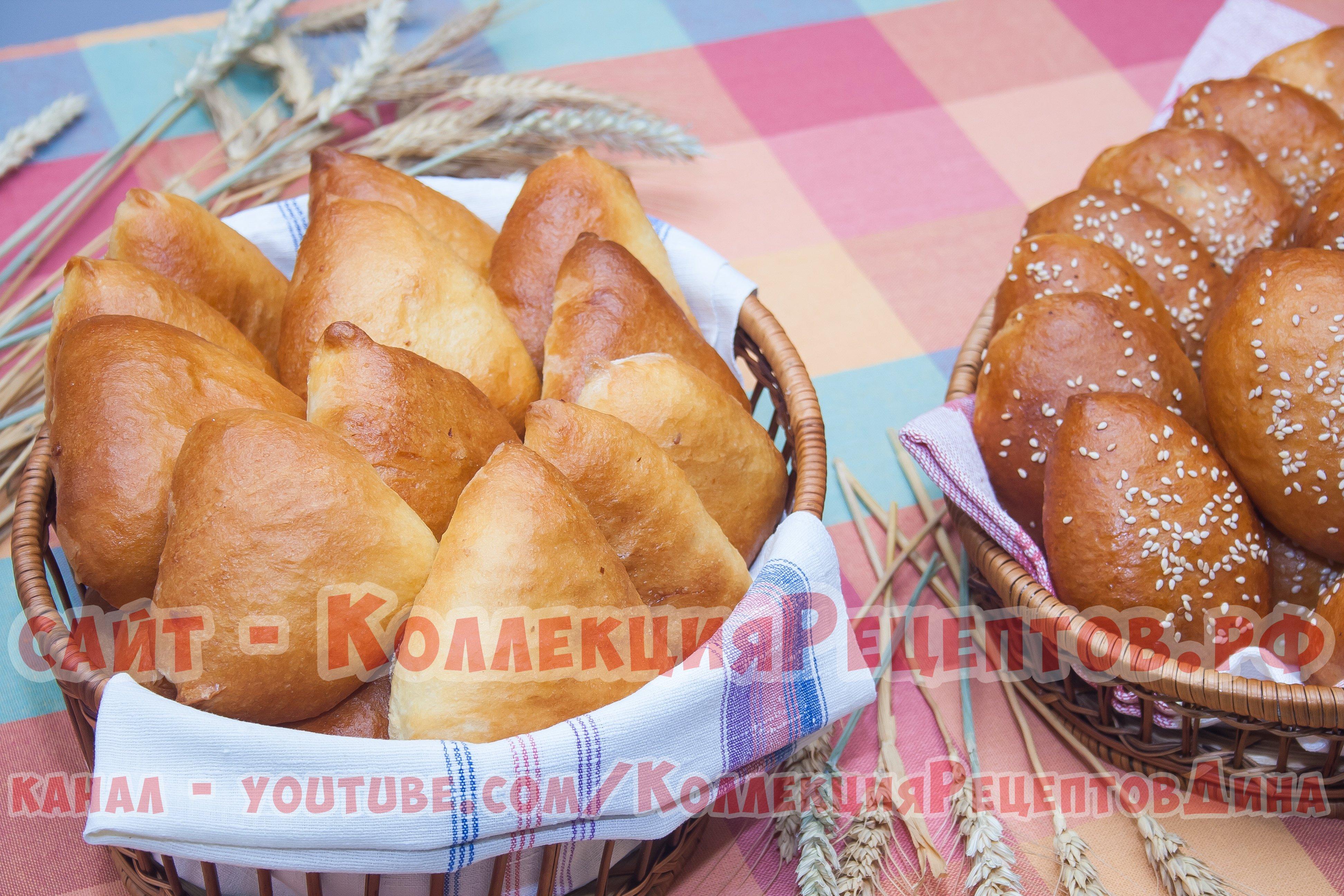 сдобные пирожки с капустой в духовке