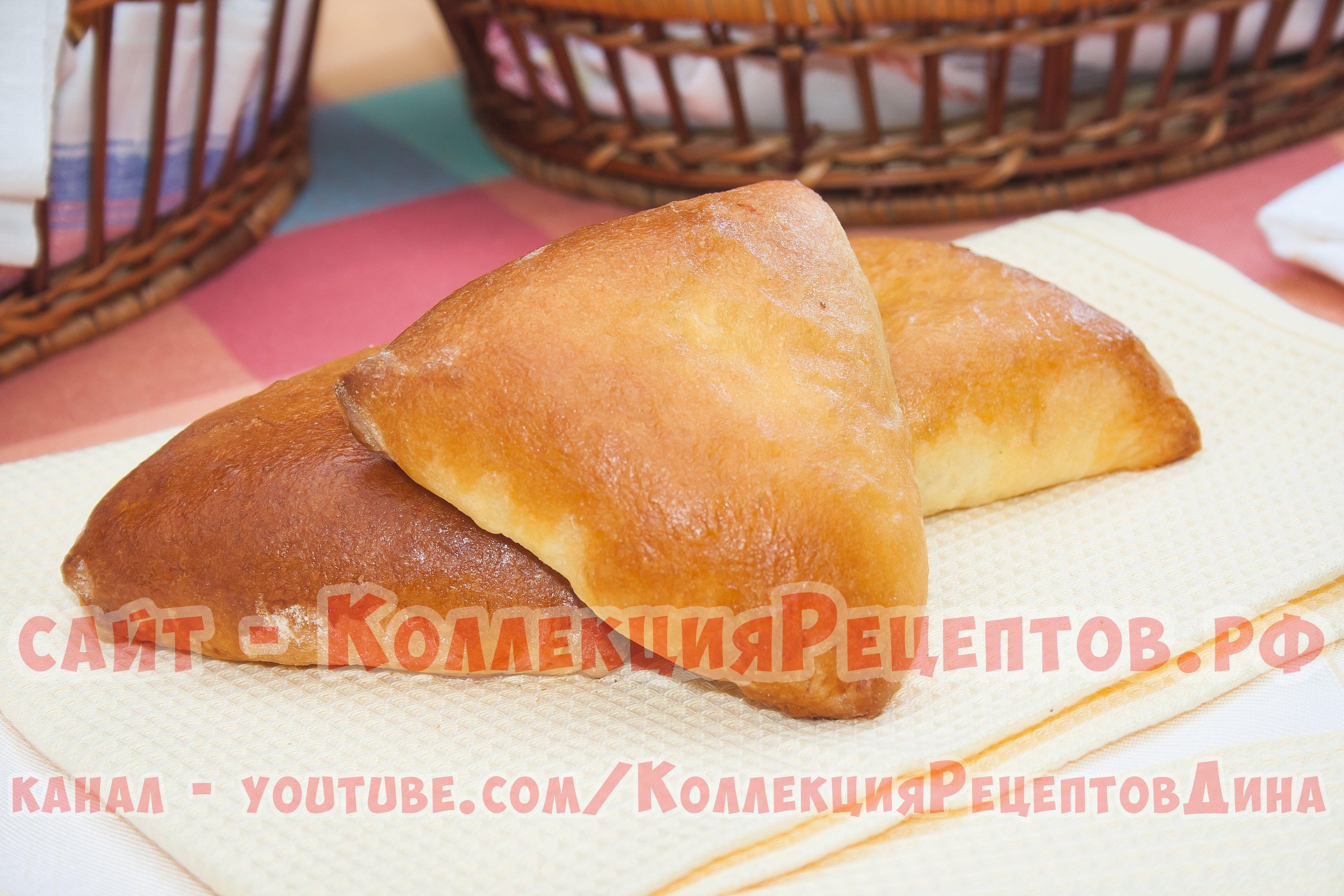 Пирожки с брусникой из дрожжевого теста в духовке рецепт пошагово