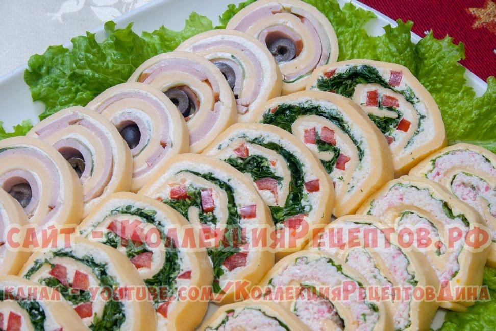 Пошаговые фото рецепты праздничных закусок