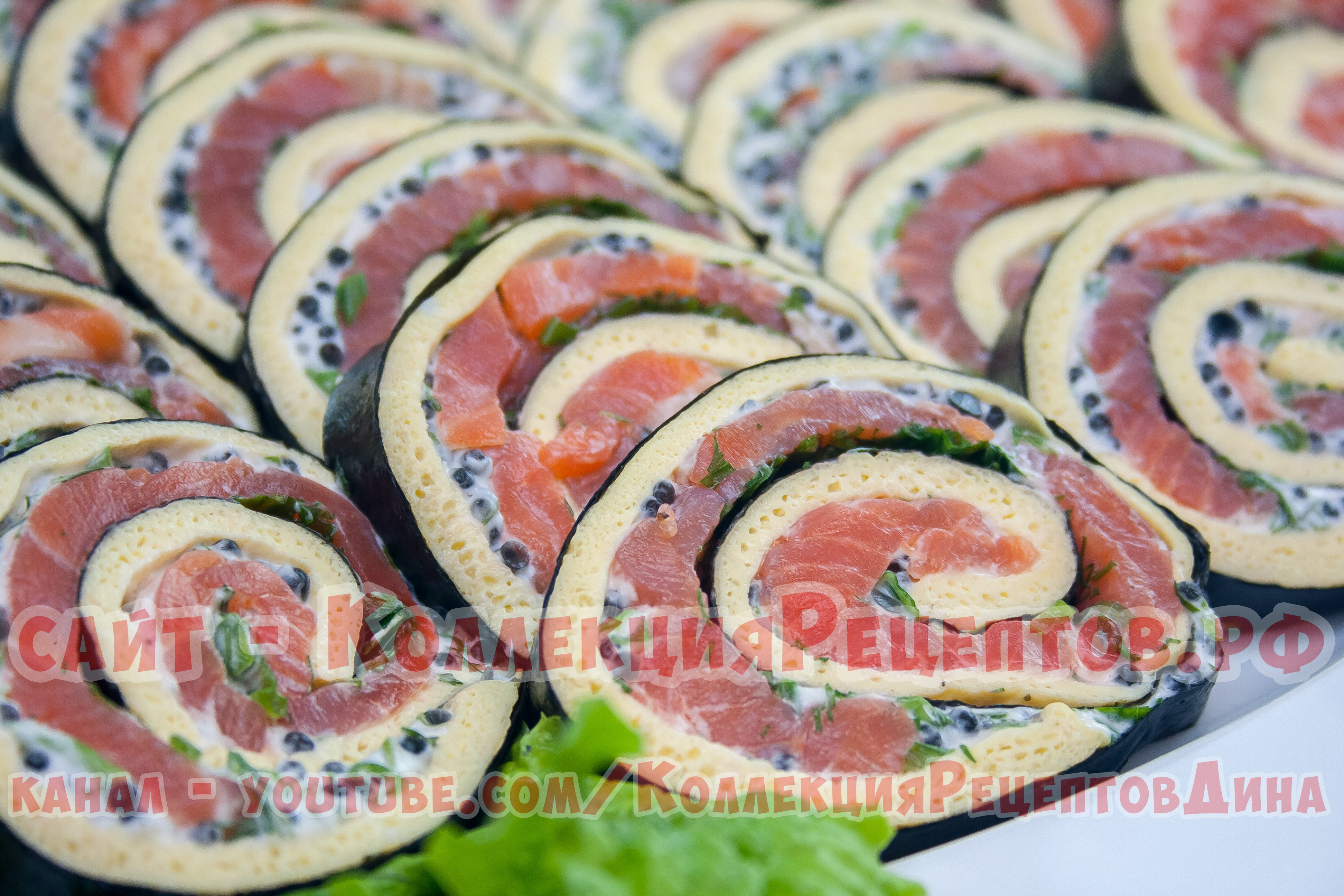 закуски на праздничный стол из рыбы рецепты с фото