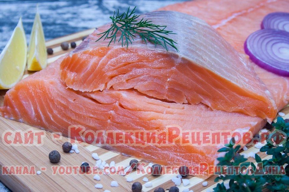 посолить красную рыбу в домашних условиях