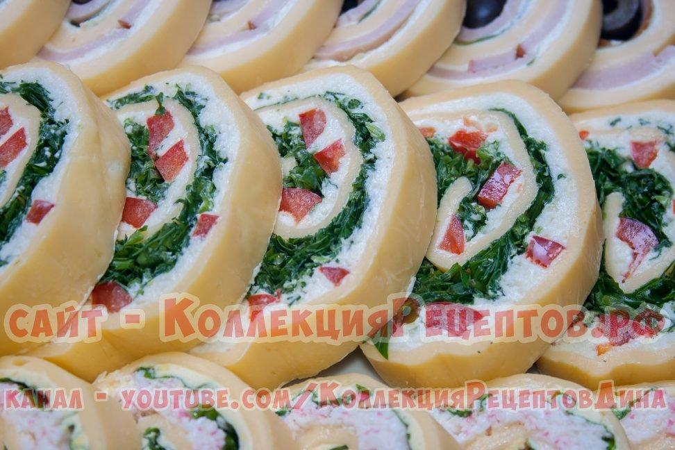 праздничные закуски с фото
