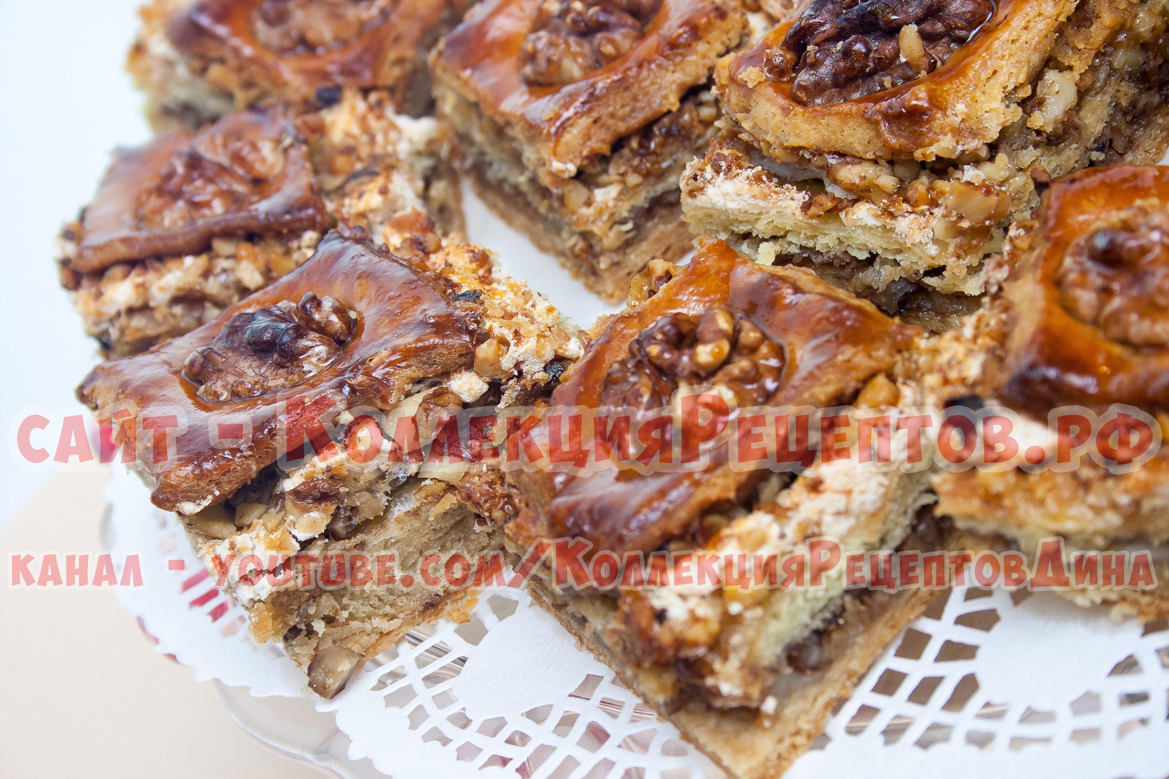 пахлавы фото с и медом рецепт орехами с