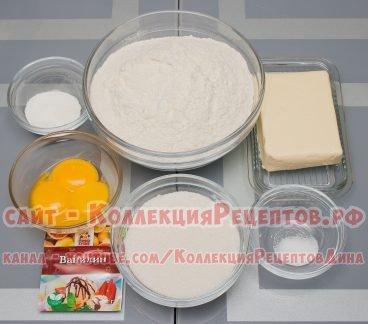 песочное тесто рецепт для пирога