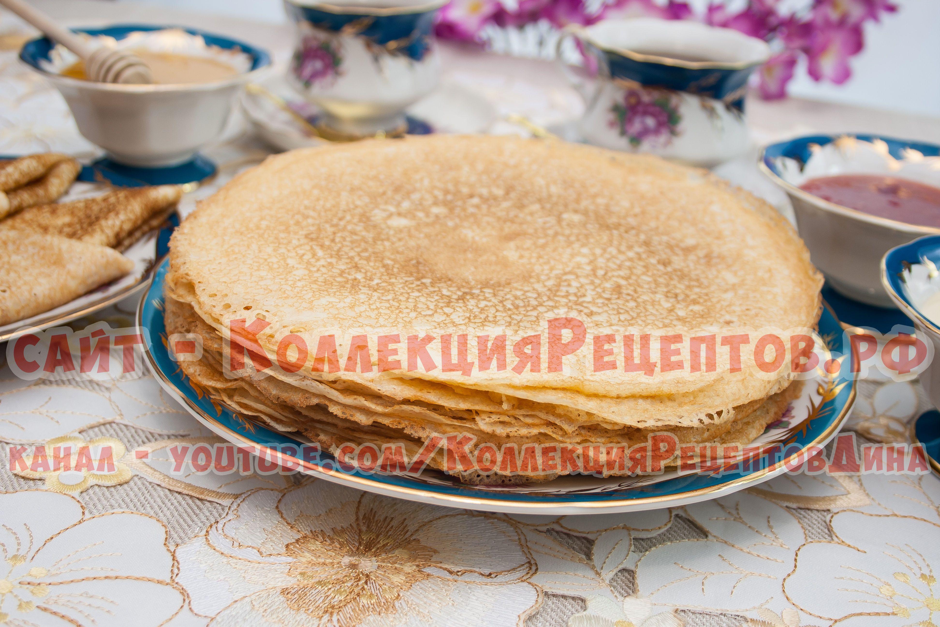 Рецепты вкусных блинов с пошаговым фото