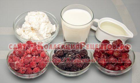 смузи с молоком