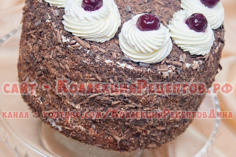 торт с фото пошагово