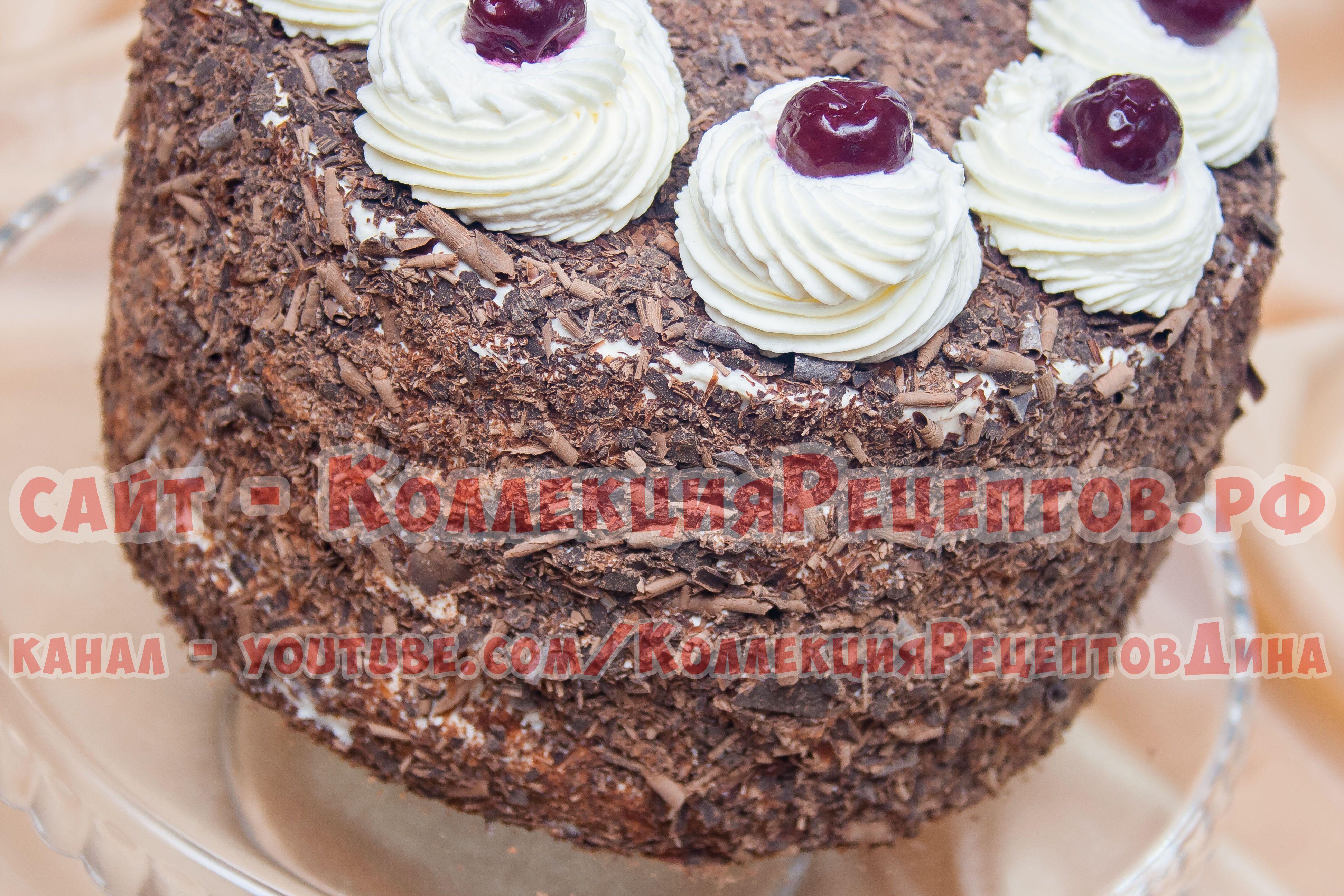 Тортики с пошаговым фото