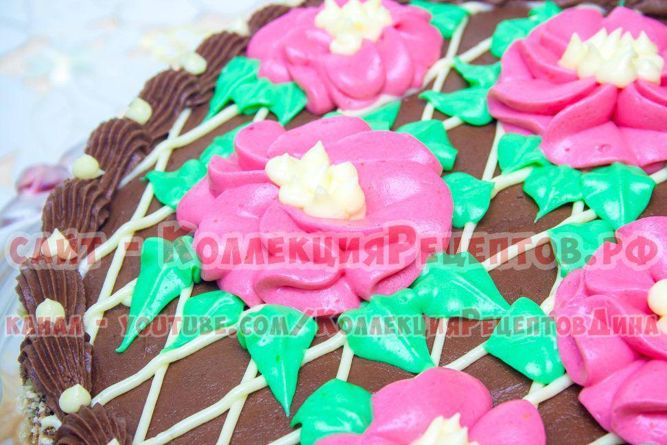 киевский торт пошагово