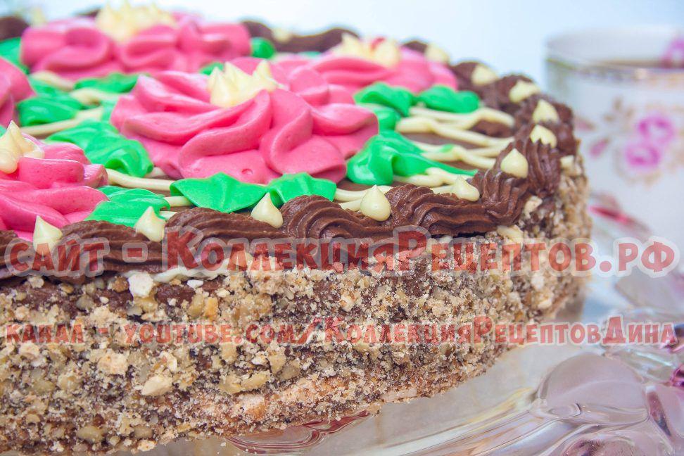 киевский торт по домашнему