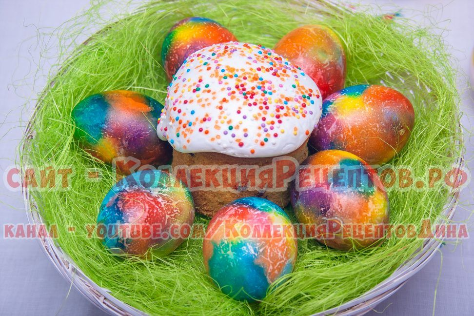 красиво покрасить яйца на пасху своими руками