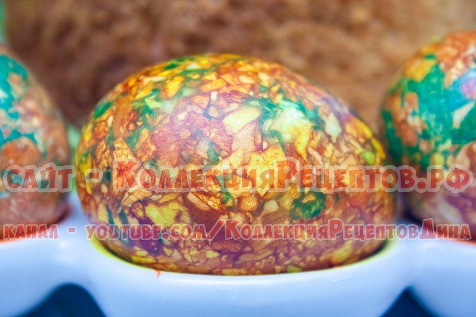 мраморные яйца на пасху пошаговый рецепт