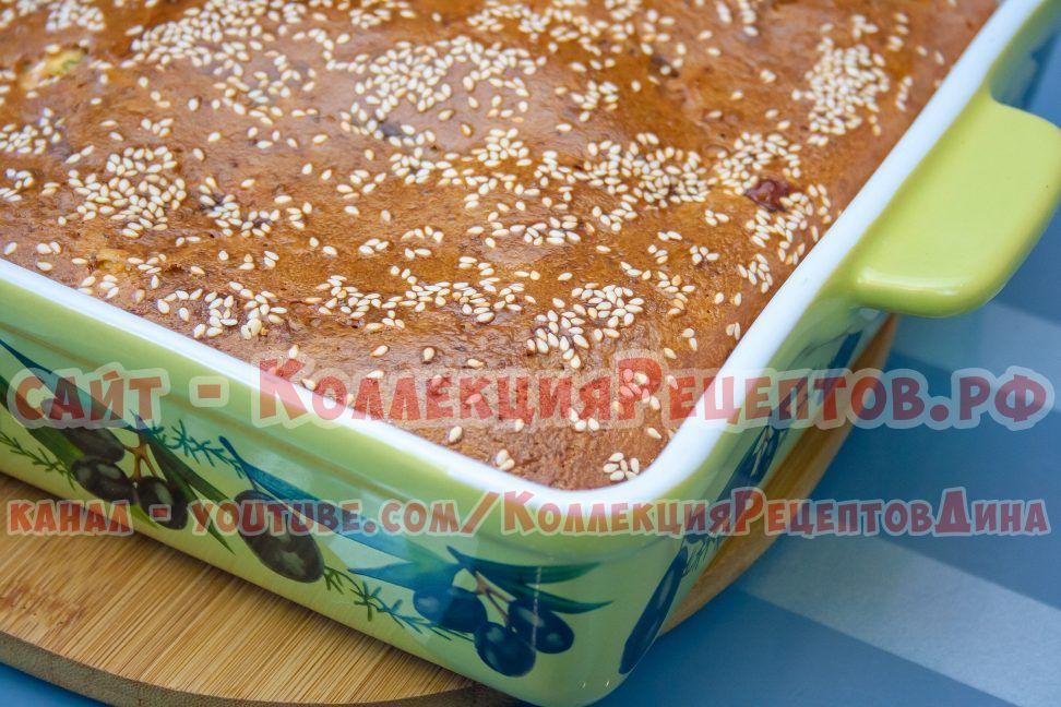 рецепт заливного пирога на кефире
