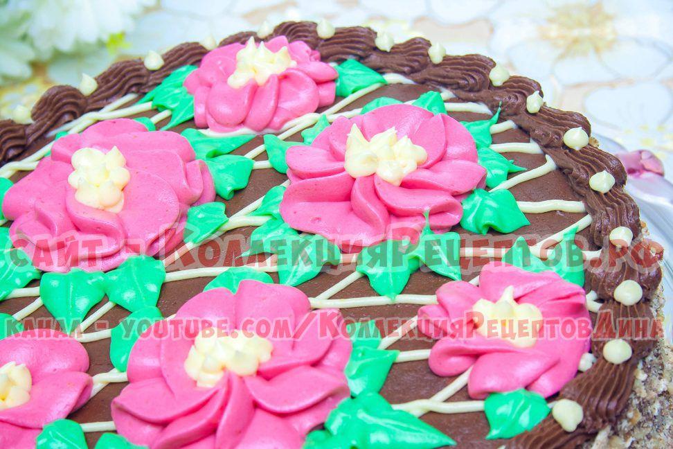 торт киевский домашний с фото