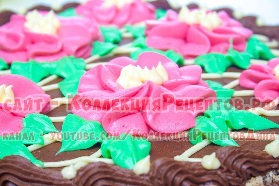 торт киевский рецепт с фото пошагово