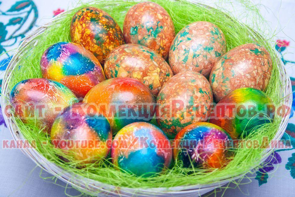 яйца на пасху своими руками фото
