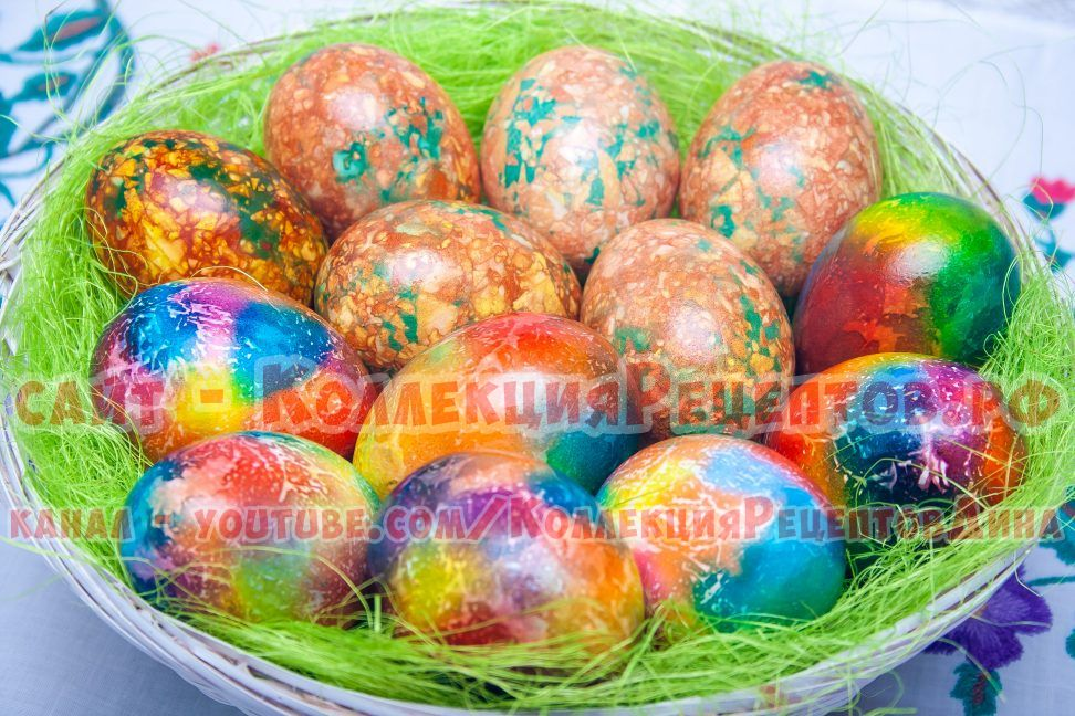 яйца на пасху фото