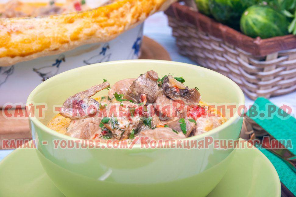 мясо свинина в духовке