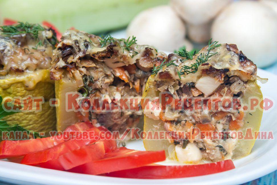 кабачки со сливками