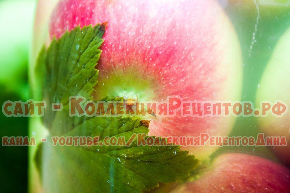 домашние яблоки рецепт