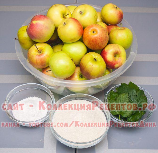 моченые яблоки рецепт в банках