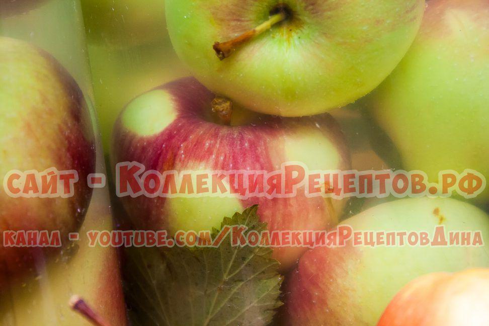 моченые яблоки рецепт