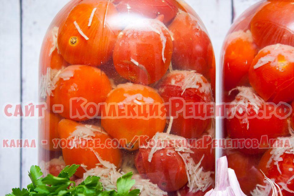 помидоры в снегу на зиму