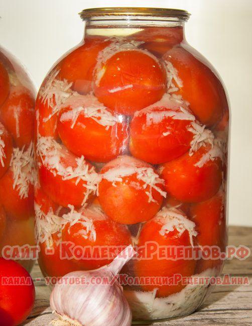 помидоры под снегом на зиму