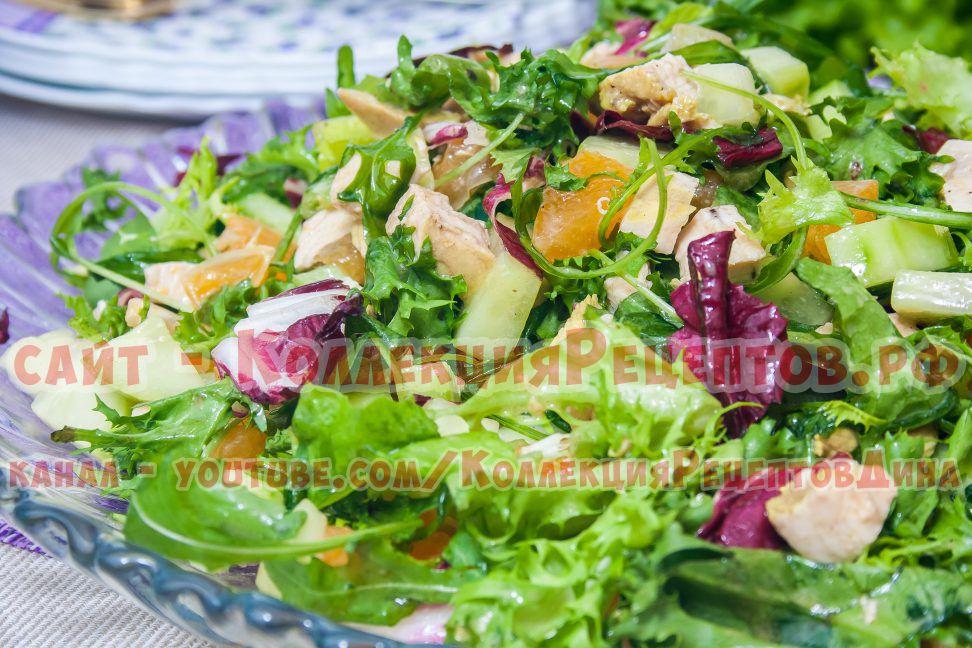 легкие салаты рецепты простые