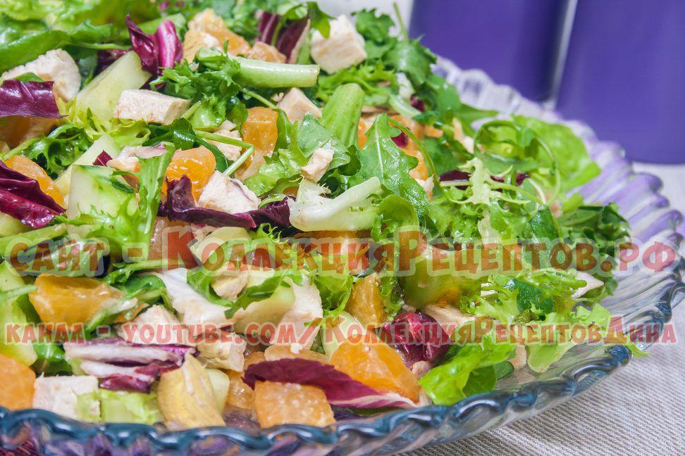 простые вкусные легкие салаты