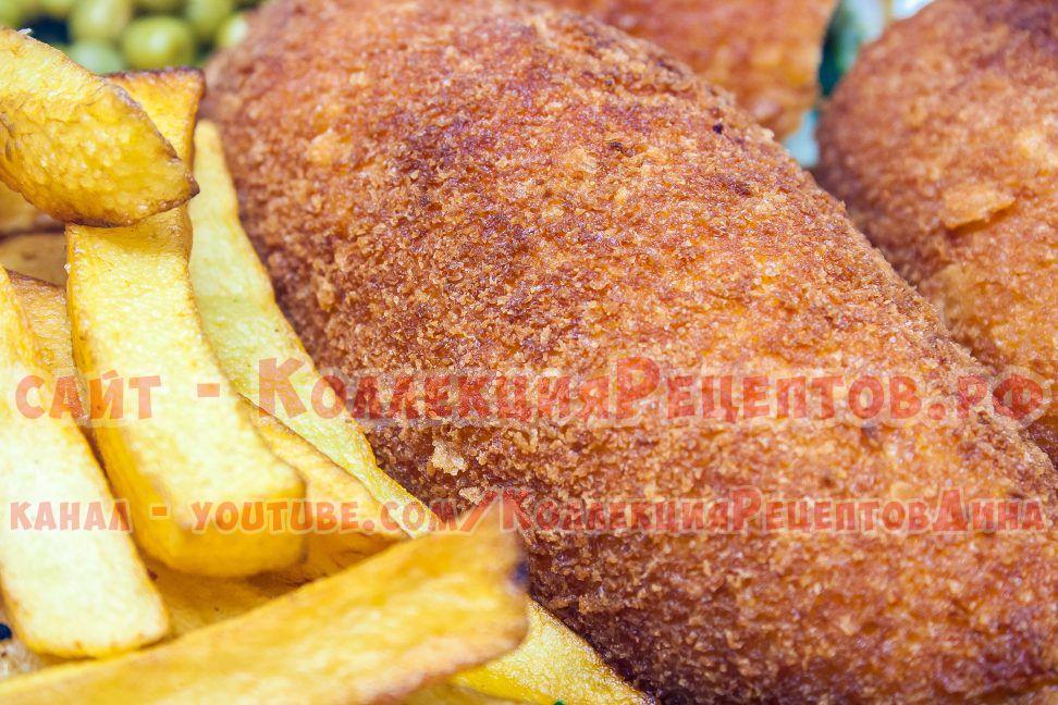 рецепт котлет по киевски из куриного филе