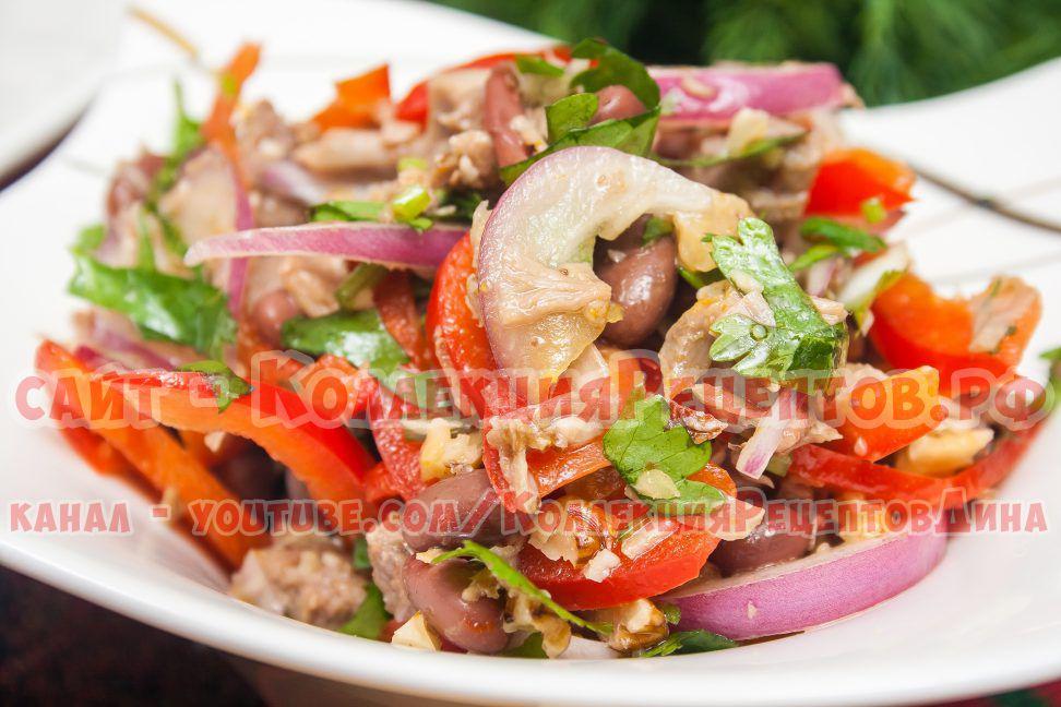 салат с фасолью фото