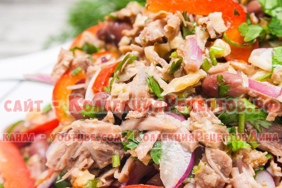 тбилиси салат с говядиной