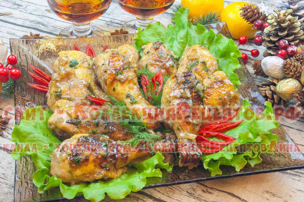 голень куриная в духовке рецепт
