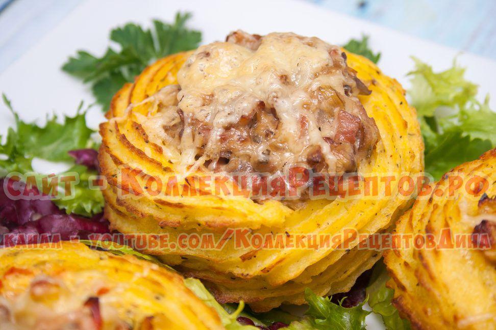 картофельные гнезда рецепт