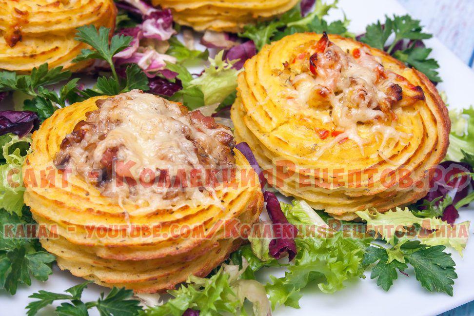 картофельные гнезда фото
