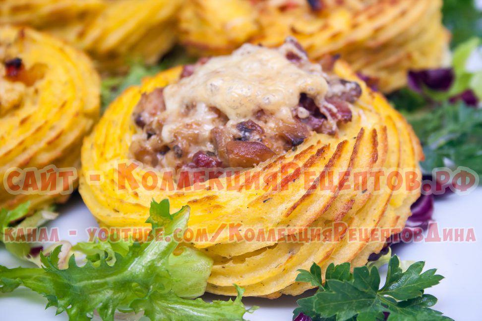 картофель в духовке рецепт с фото