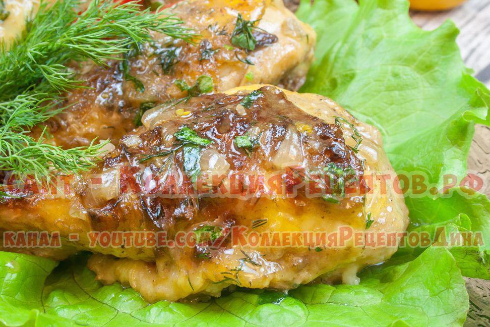 куриные голени рецепты с фото