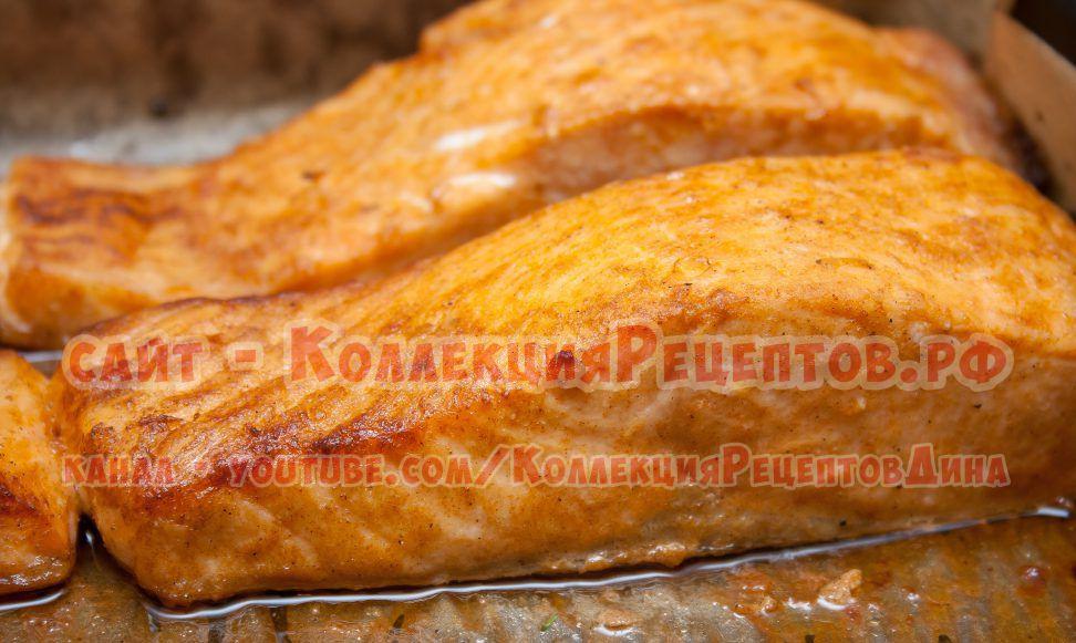 лосось рецепты