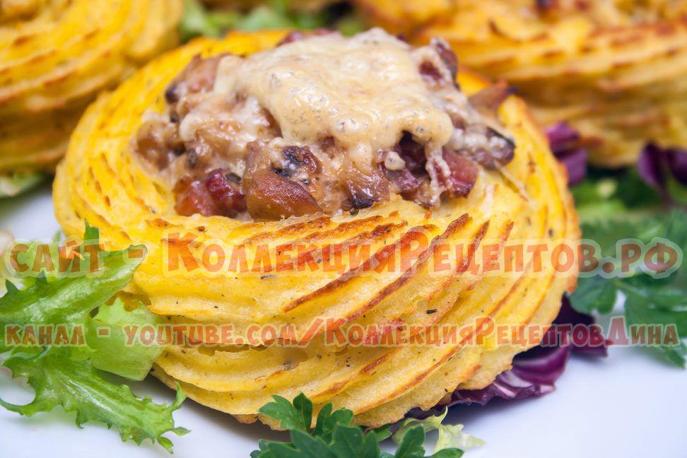 фото картофеля в духовке