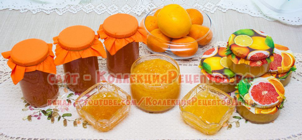 варенье из апельсинов рецепт с фото