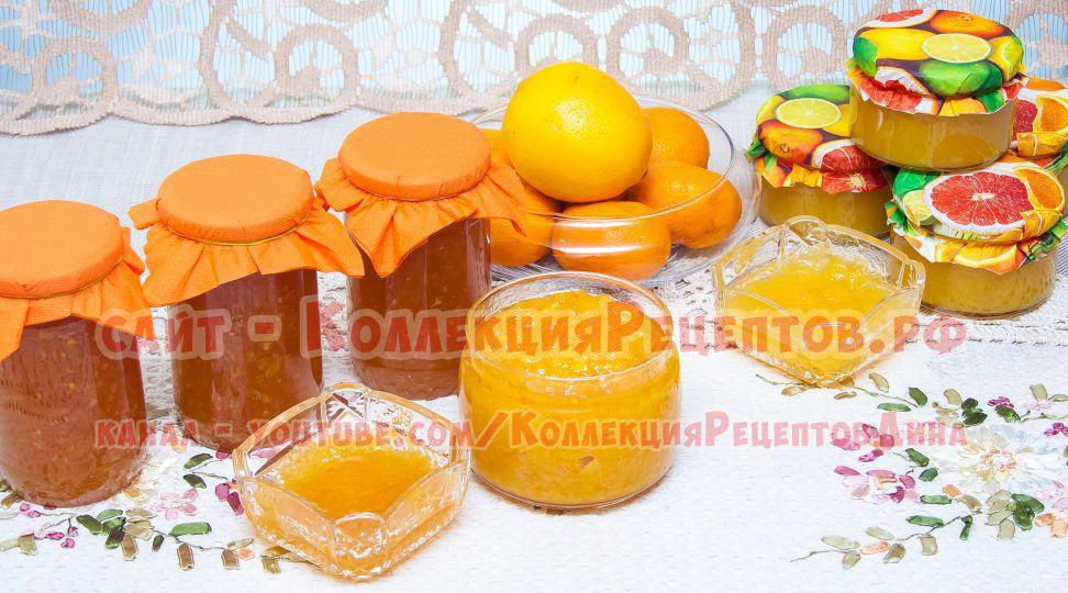 варенье из апельсинов фото