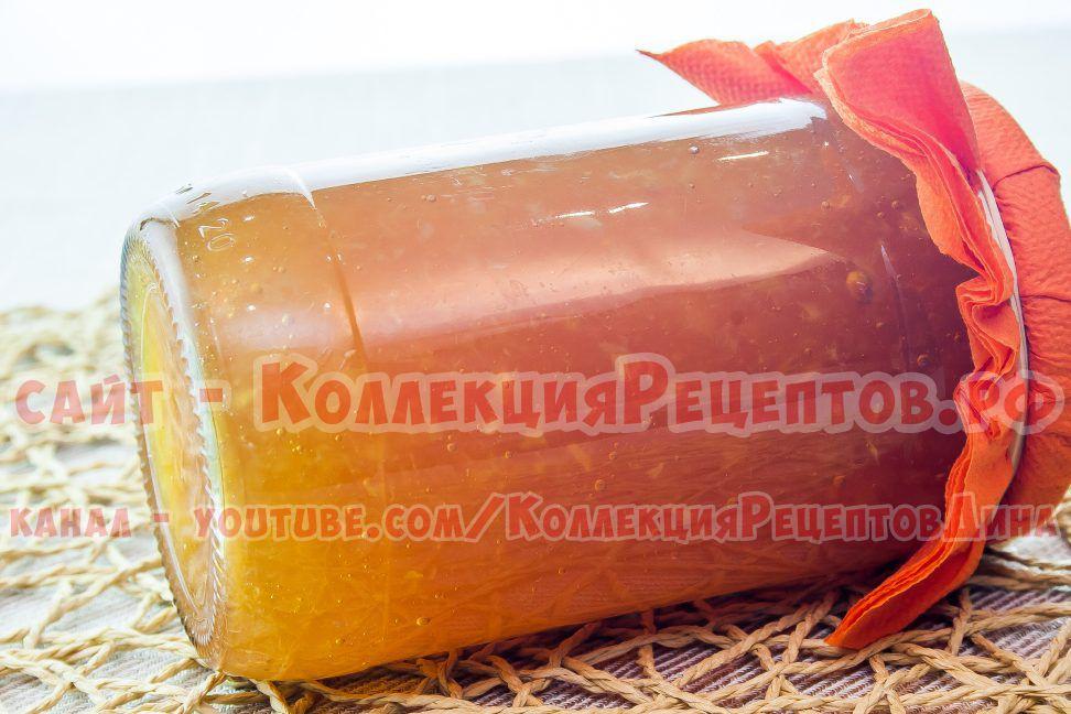 рецепт апельсинового джема в домашних условиях