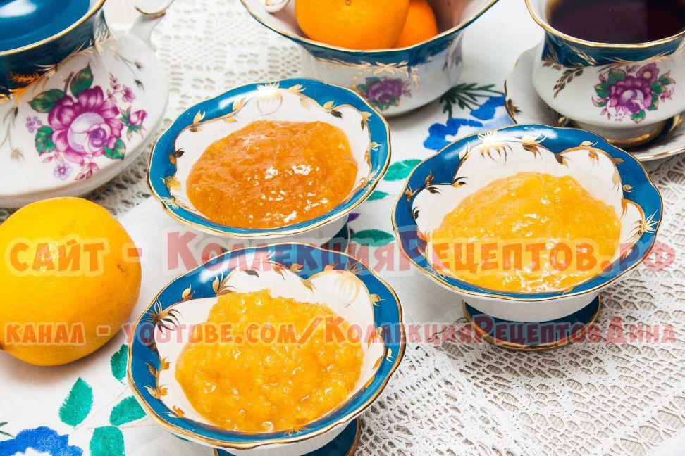 рецепт варенья лимон и апельсин