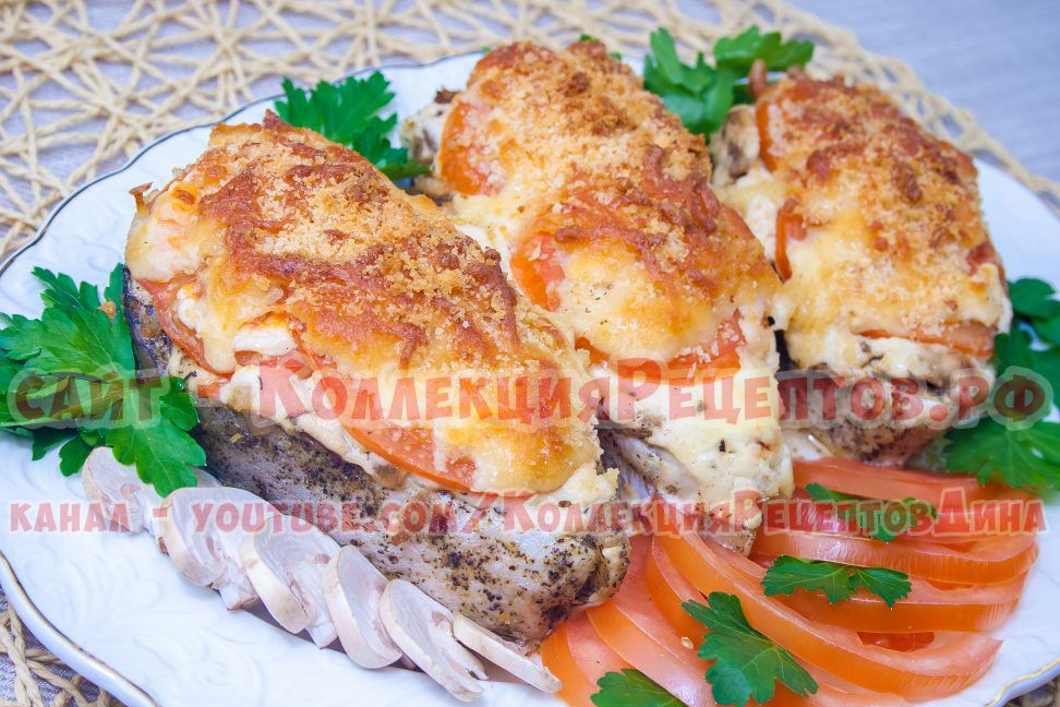 горячее блюдо на праздничный стол
