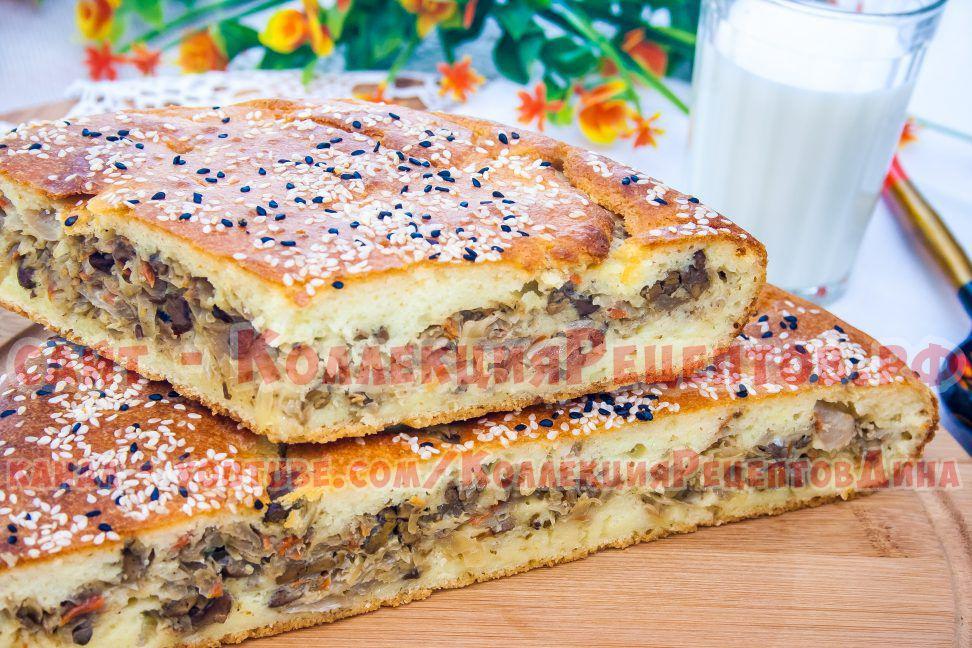 заливные пироги в духовке рецепты