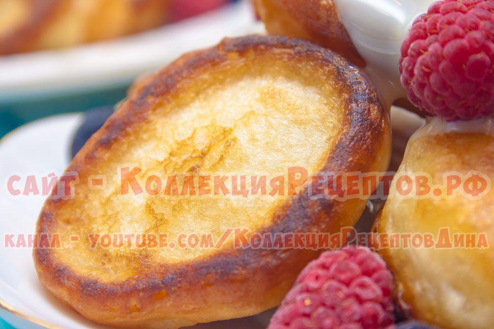 рецепт оладьи на кефире пышные с фото