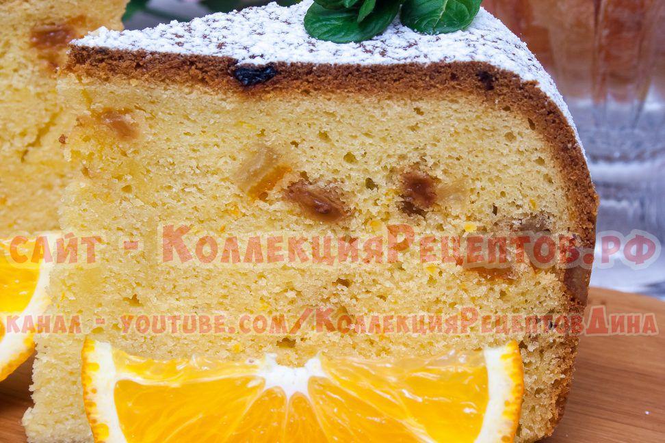 фото апельсинового кекса