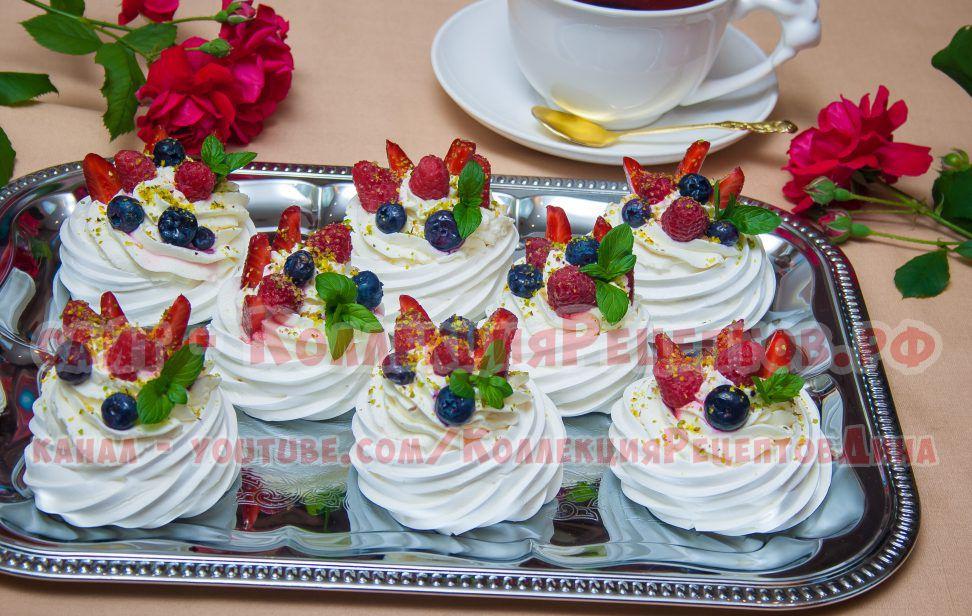 пирожное анна павлова фото